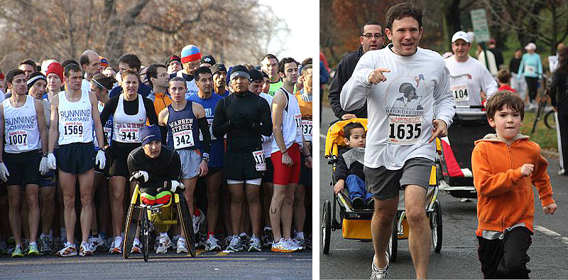Ashenfelter 8K Classic in Glen Ridge on Thanksgiving