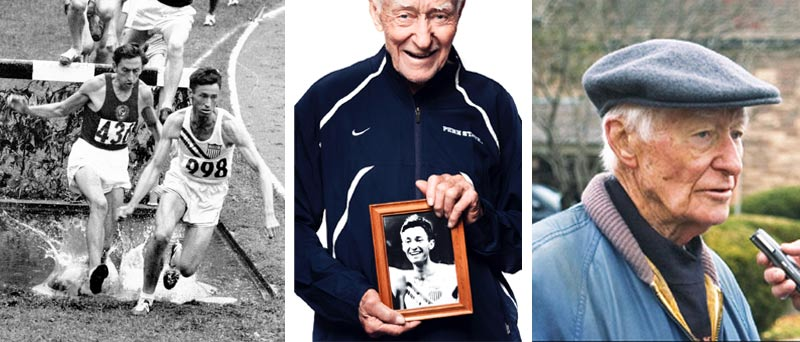 Portraits of runner Horace Ashenfelter
